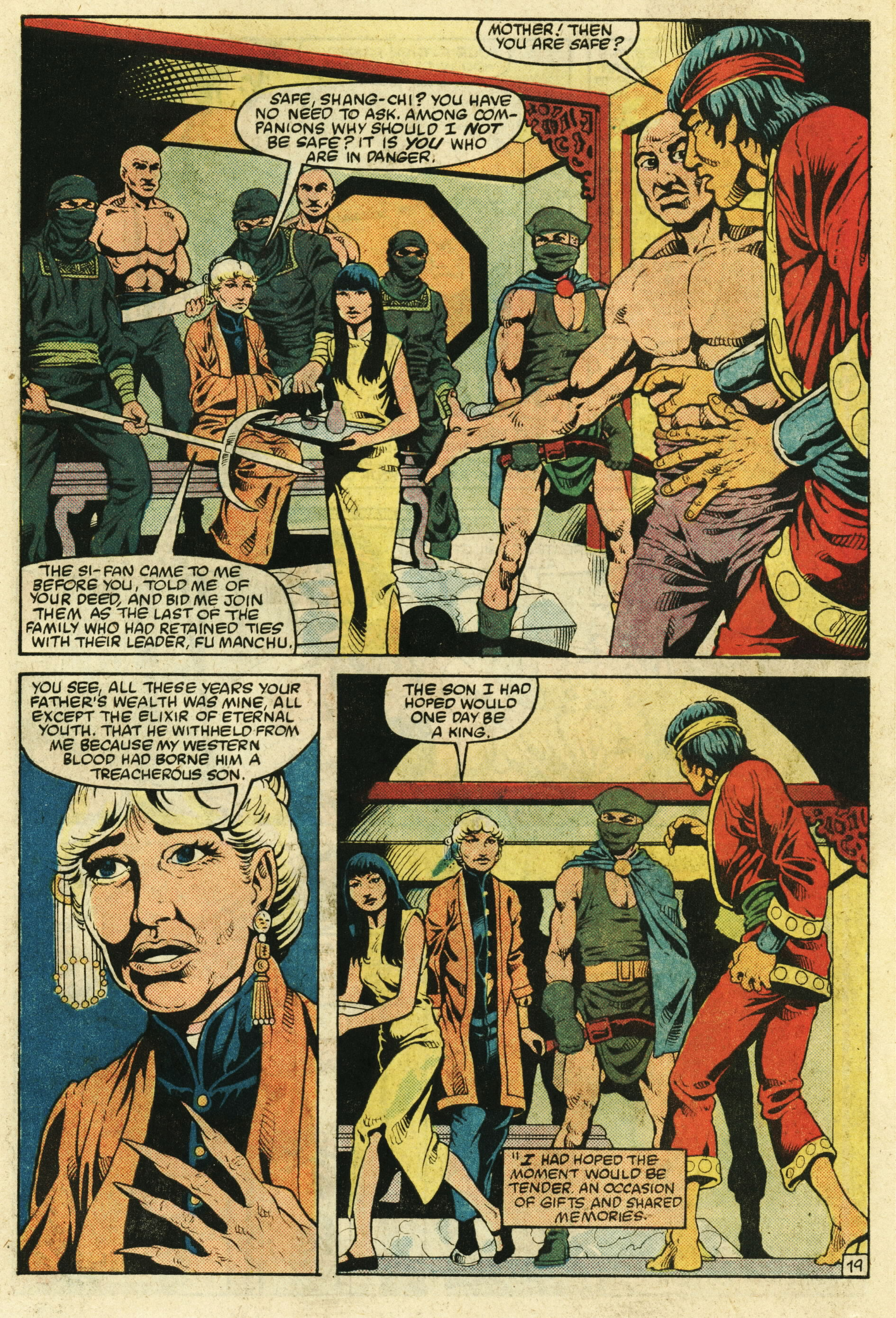 Read online Master of Kung Fu (1974) comic -  Issue #123 - 20