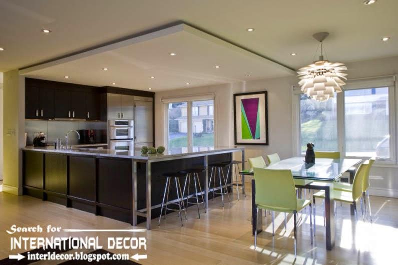 Kitchen Ceiling Designs Ideas Lights Suspended