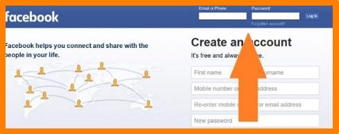 Facebook.com Login Homepage