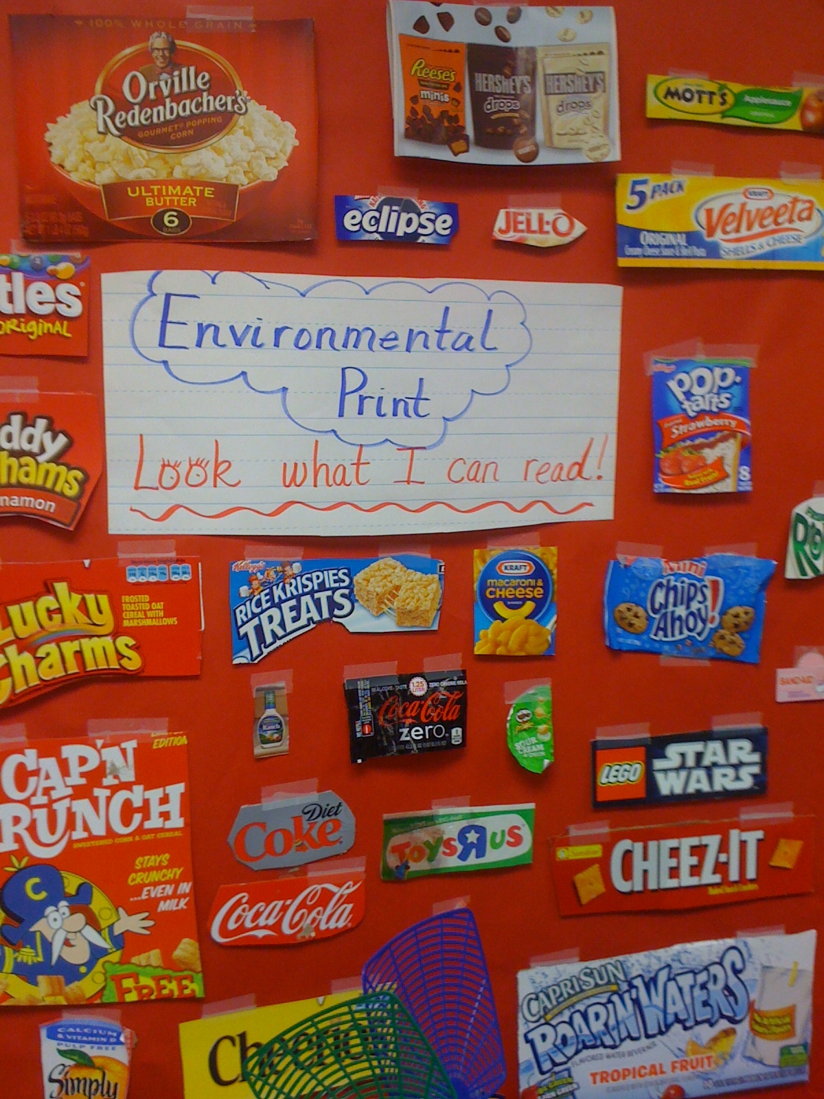 Love For Kindergarten Fun With Environmental Print