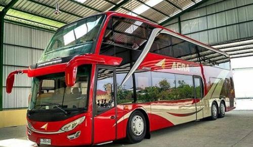 bus tingkat agra mas
