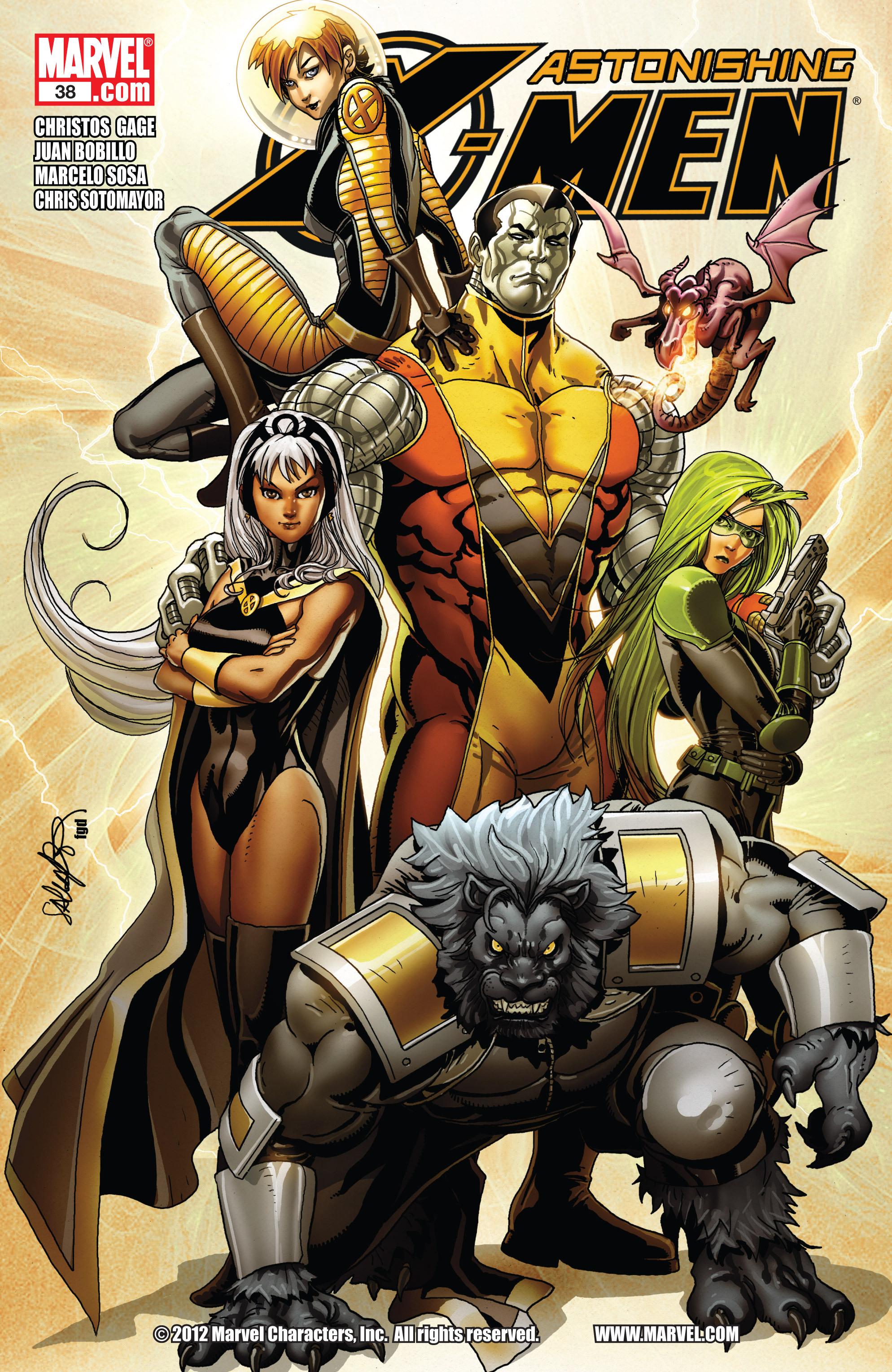 Read online Astonishing X-Men (2004) comic -  Issue #38 - 1