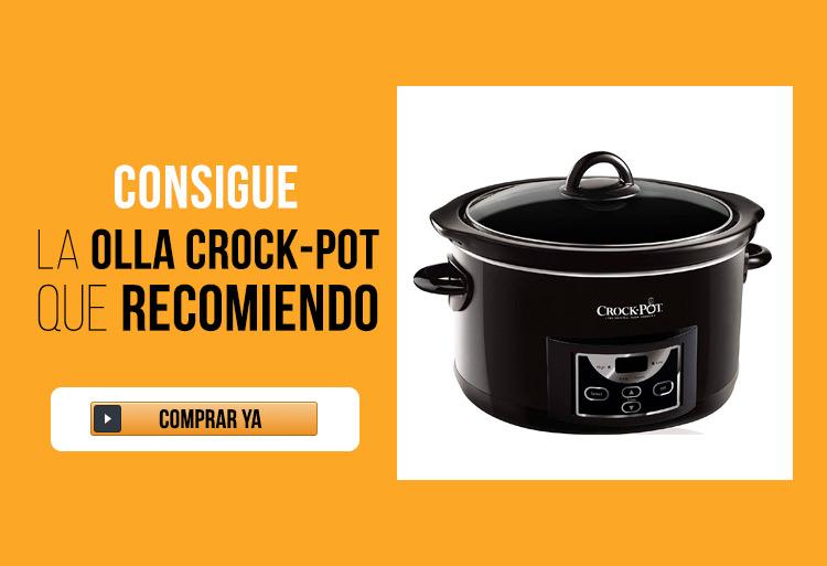 Olla de Cocción Lenta Crock-Pot Digital 4,7L