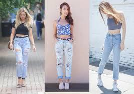 fotos e modelos de calça jenas feminina destroyed