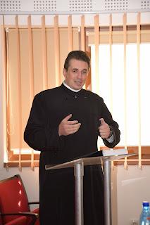 Sustinerea tezei de doctorat a parintelui Arhid. Sorin Marciuc, Facultatea de Teologie Ortodoxa Cluj-Napoca