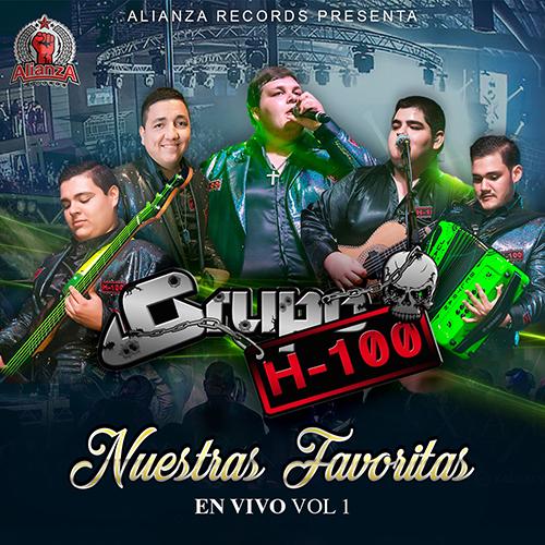 Grupo H-100 – Nuestras Favoritas Vol. 1 (En Vivo) (Álbum 2017)