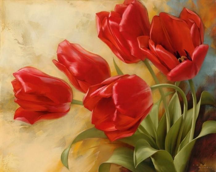 Рисунки цветов. Игорь Левашов 17