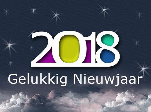 2018 gelukkig nieuwjaar