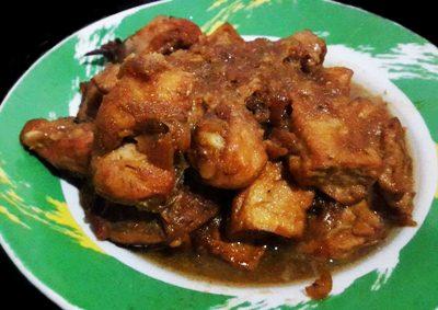 Resep Semur Ayam Bumbu Sederhana Kecap