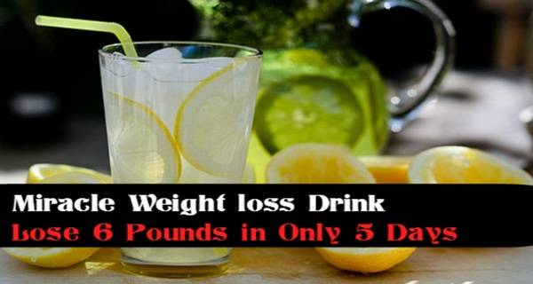 miracle drink weight loss fast