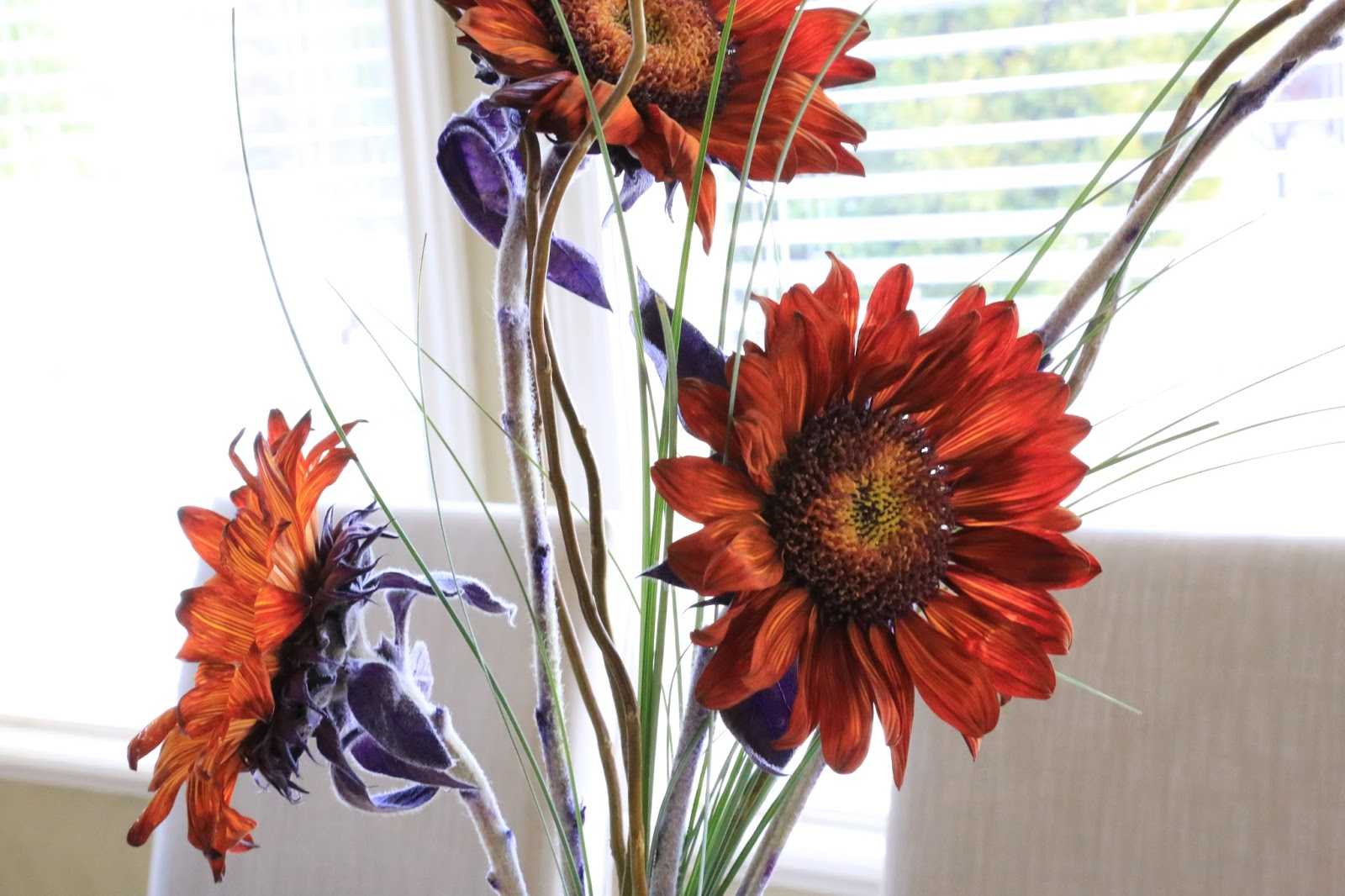Decorated Mantel Welcome October With An Easy Sunflower Floral
