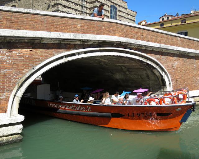 Ponte dei Domenicani (Blackfriars Bridge), Scali del Vescovado, Livorno