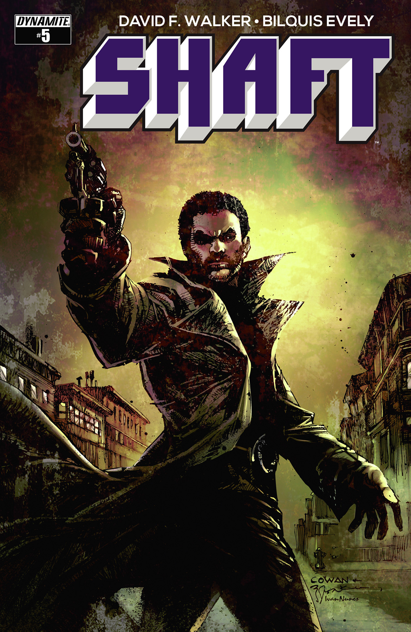 Read online Shaft comic -  Issue #5 - 1
