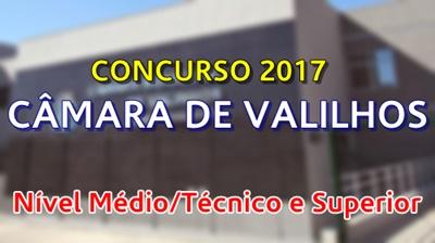 Concurso Câmara de Valinhos SP 2017