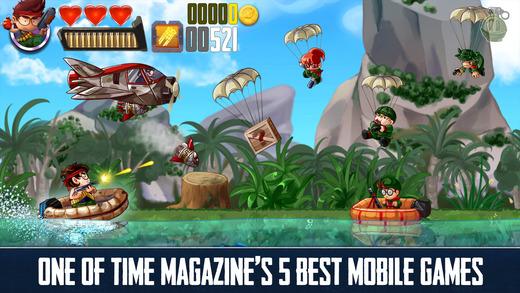 أقوى لعبة لهواتف أيفون محاربة طائر RAMBOAT Game