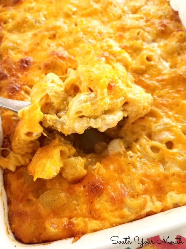This is THE best Southern-Style baked Macaroni & Cheese I've ever made! EVER!