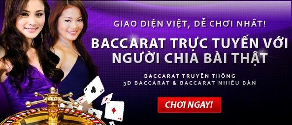 Baccarat trực tuyến