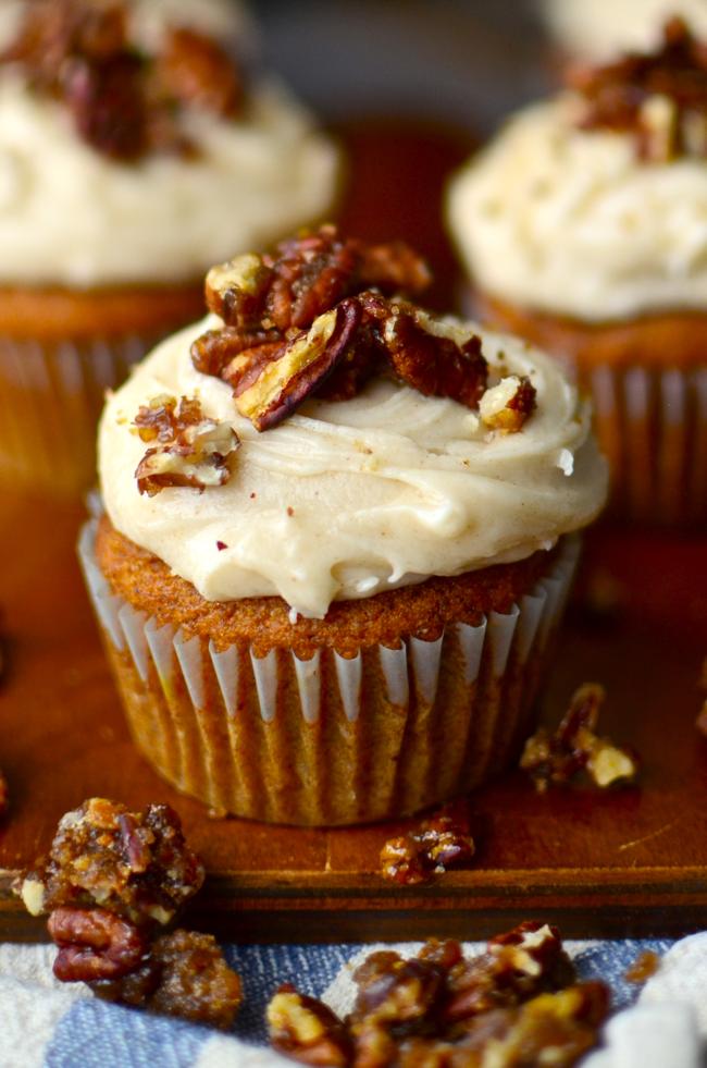 Yammie S Glutenfreedom Gluten Free Pumpkin Cupcakes With