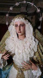 Roban la corona, el puñal y tres estrellas a la Virgen Mayor Dolor de Aracena
