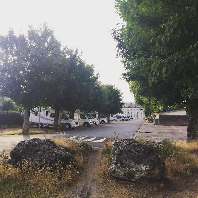 Area de autocaravanas de Meung sur Loira