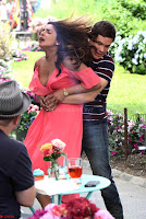 Priyanka Chopra in a Deep neck Red Gown on the Set of Isnt It Romantic ~  Exclusive Celebrities Galleries 004.jpg