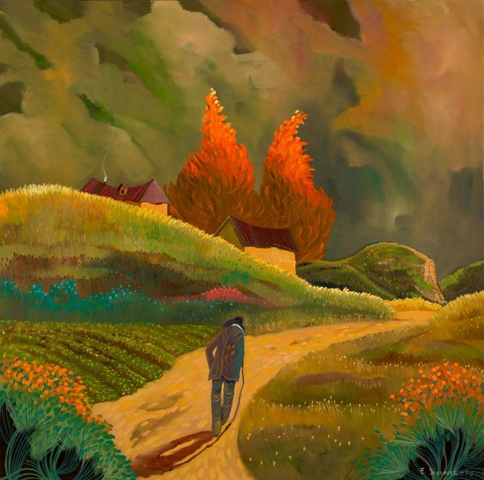 Симфония цвета. Ed Sandoval