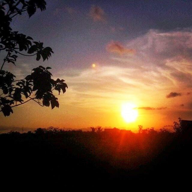Sunset Nanggulan Kulon Progo