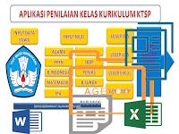 Download Aplikasi Penilaian Kurikulum KTSP Format Excel Terbaru