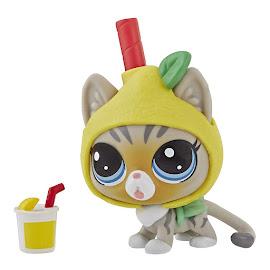 LPS Series 4 Thirsty Pets Cat (#4-159) Pet
