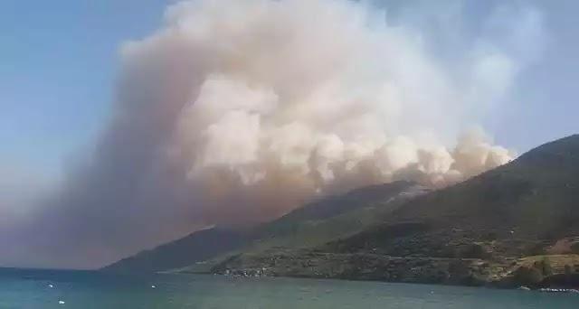 Αγωνία για τα πύρινα μέτωπα σε όλη τη χώρα -Καίγονται σπίτια στη Μάνη