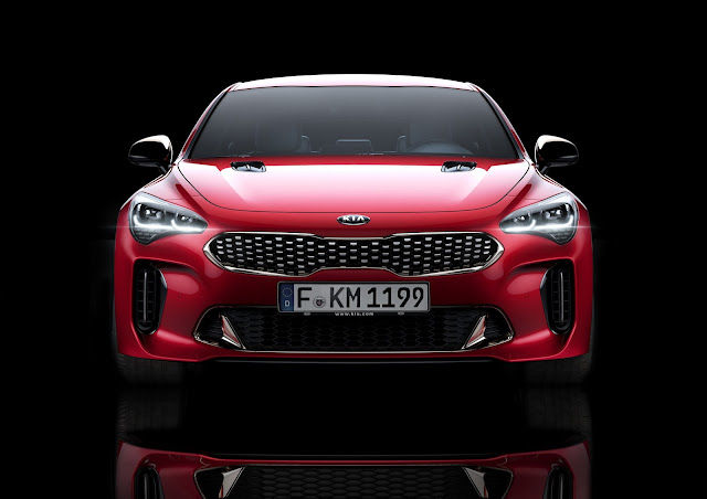Kia Stinger RWD sedan