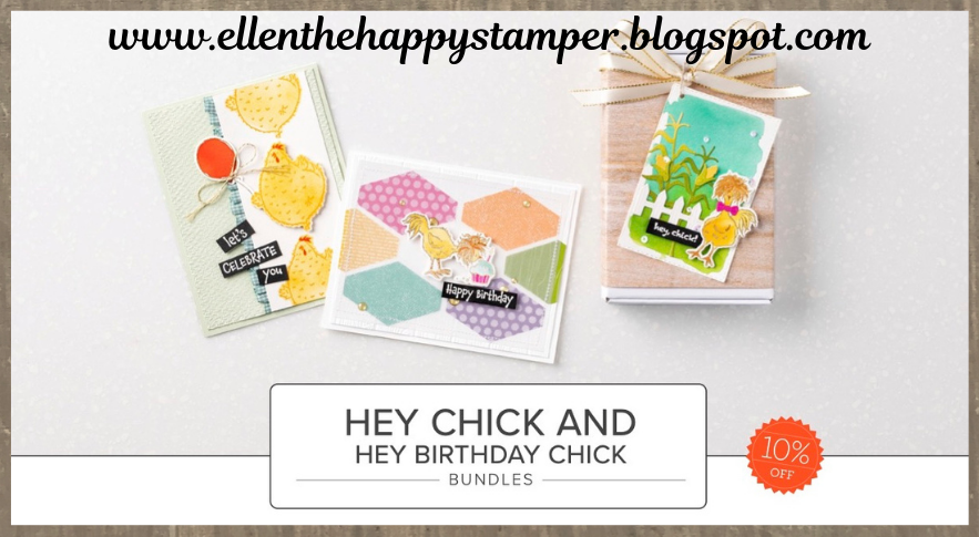 Stampin' Up! Hey Chick and Hey Birthday Chick Bundles
