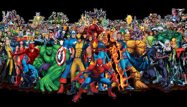 Sequencia de filmes da Marvel