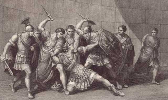 Caligula Adalah Kaisar Romawi Pertama yang Tewas Dibunuh