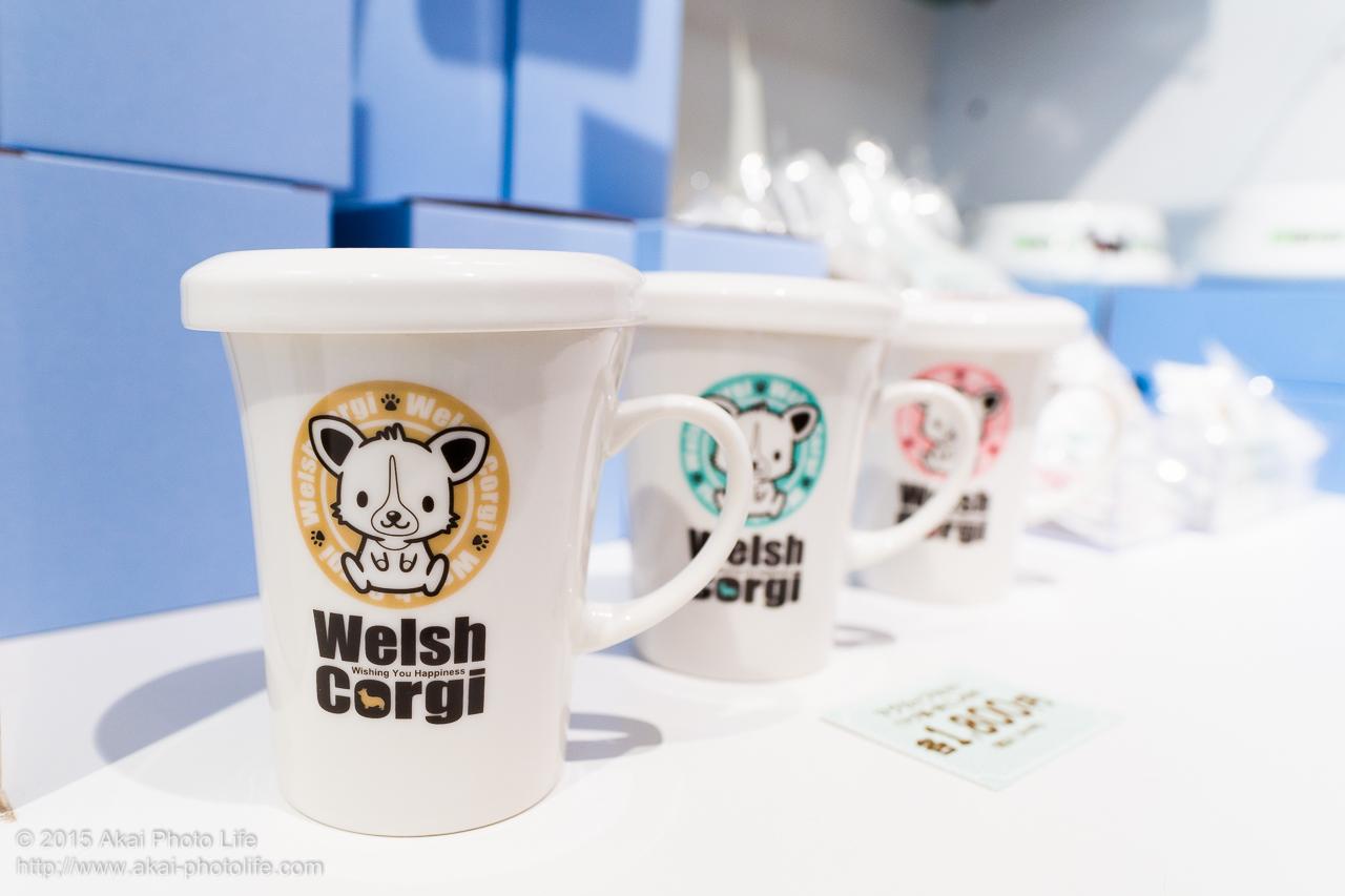 コーギーのマグカップ