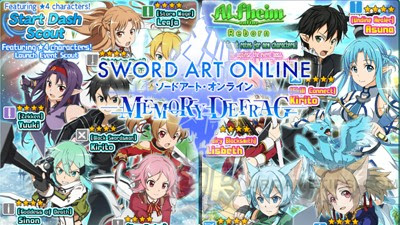 Sword Art Online: MD - Best 4-Star Characters and Tier List - Rank S