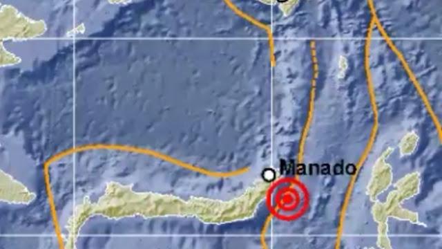 Sulut Diguncang Gempa 4,9 SR Masyarakat Dihimbau Tenang