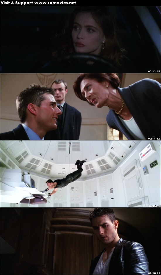 Mission Impossible 1996 Dual Audio Hindi 720p BluRay