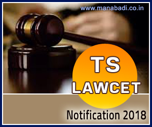 Telangana LAWCET Notification 2018