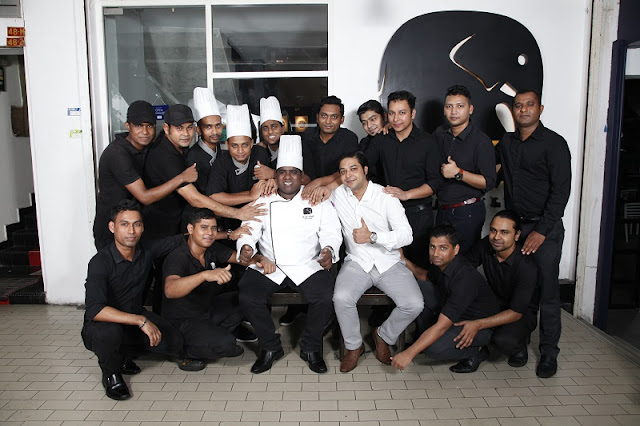 MIGF 2018 - Aliyaa Island Restaurant & Bar Chef Team - Plaza Damansara