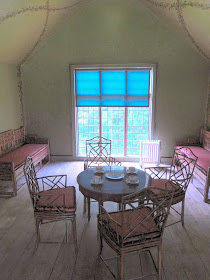 The tea room, Queen Charlotte's Cottage, Kew