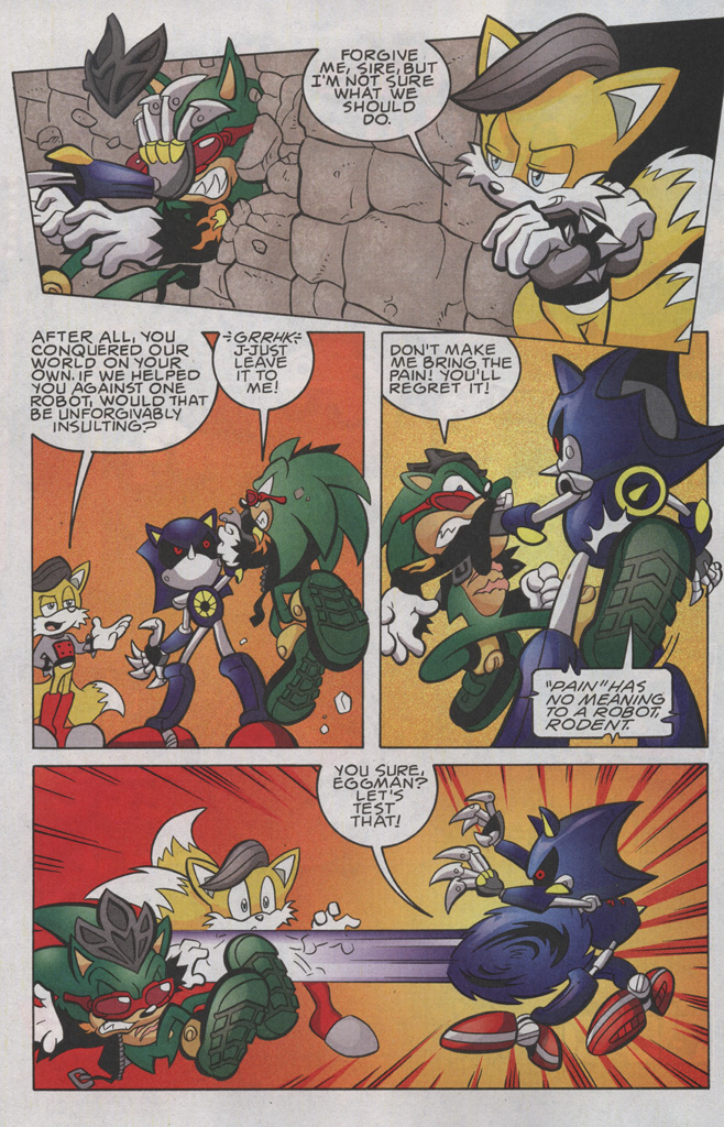 Read online Sonic The Hedgehog comic -  Issue #191 - 7