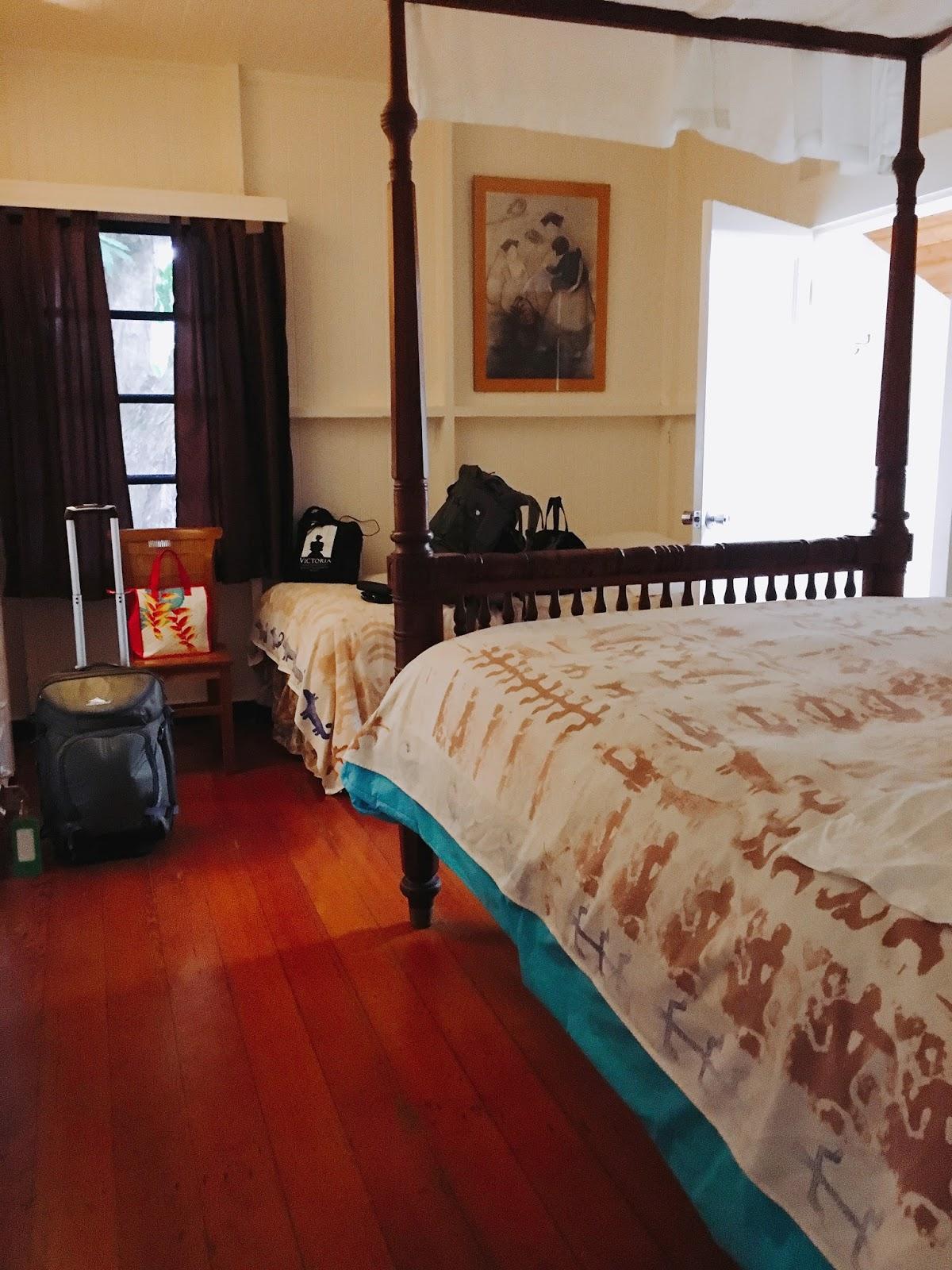Bedroom 2 at Dreams Come True on Lana'i Island in Hawai'i