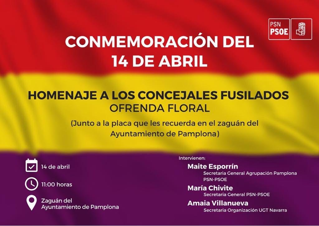 Conmemoración del 14 de Abril