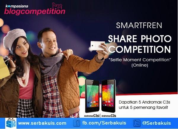 Selfie Moment Contest Berhadiah 10 Smartfren Andromax