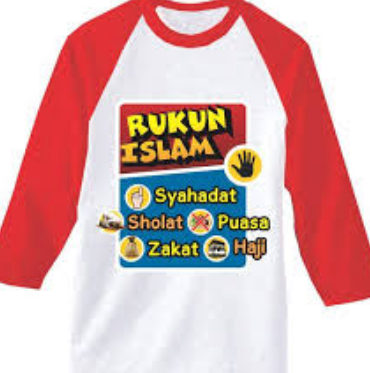 Kaos Anak-Anak Muslim