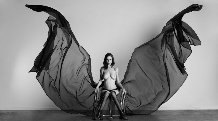 sexy wheelchair females nude