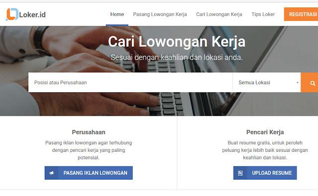 8 Situs Lowongan Kerja terbaik dan terpercaya di Indonesia