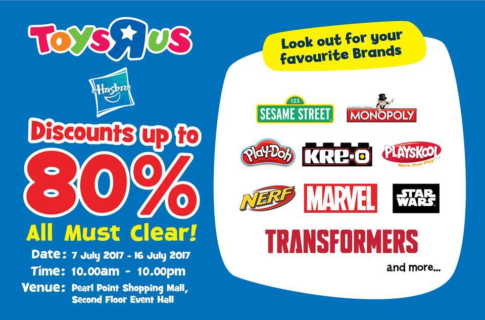 Toys R Us, Monopoly & Play-Doh Warehouse Sale @ Pearl
