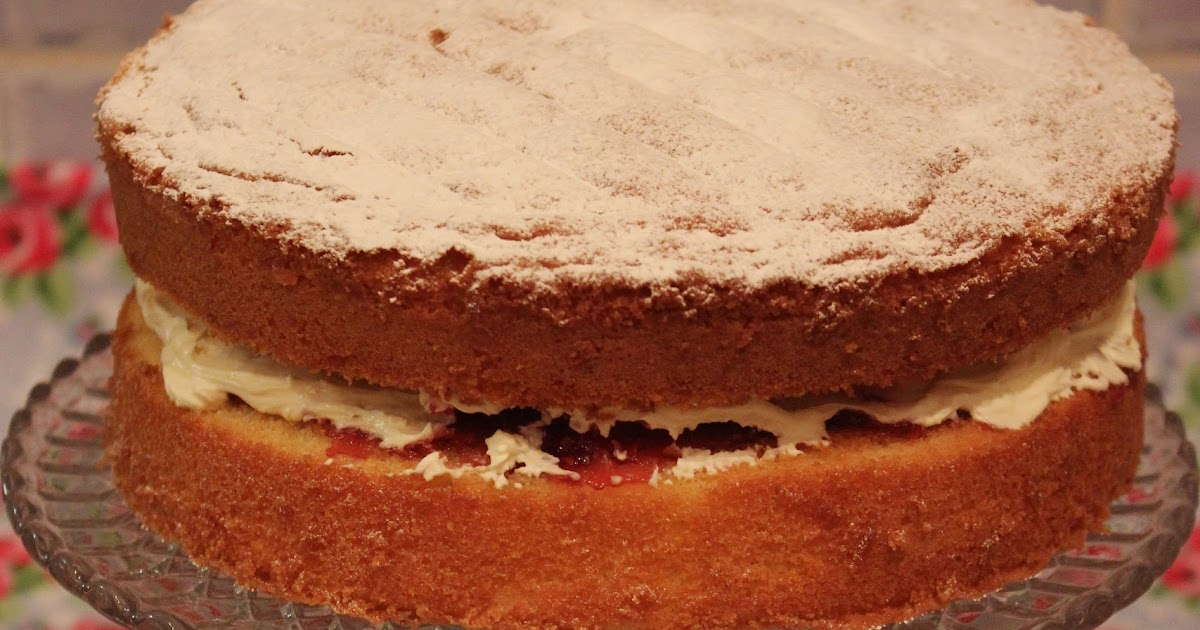 Light Fluffy Sponge Cake Recipe Uk